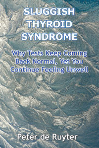 Self Help eBooks – Sluggish Thyroid Syndrome - Image of Front Cover